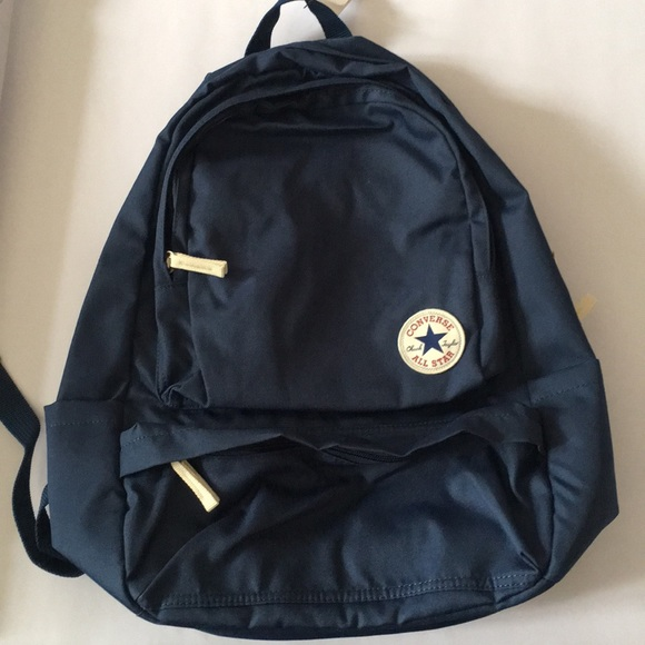 ecf8aa70dca4 NEW Navy blue Converse backpack w  lots of pockets